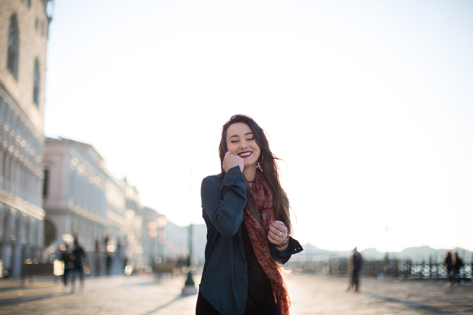 Meagan-portrait-photo-shooting-sunrise-palazzo-ducale-Venezia-Venice-2