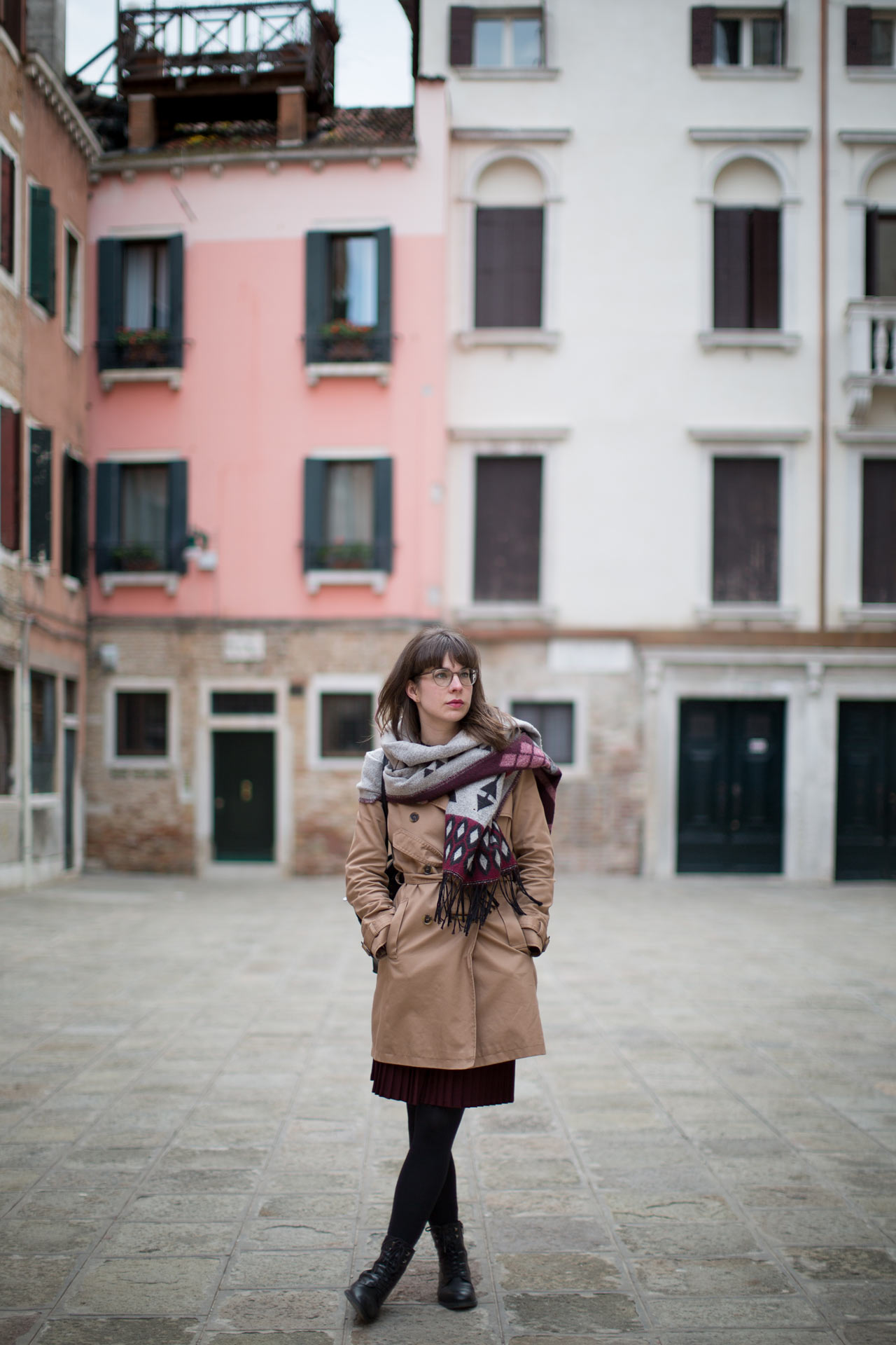 San-Polo-Campiello-Albrizzi-Carina-portrait-photo-shooting-sunset-Venezia-Venice