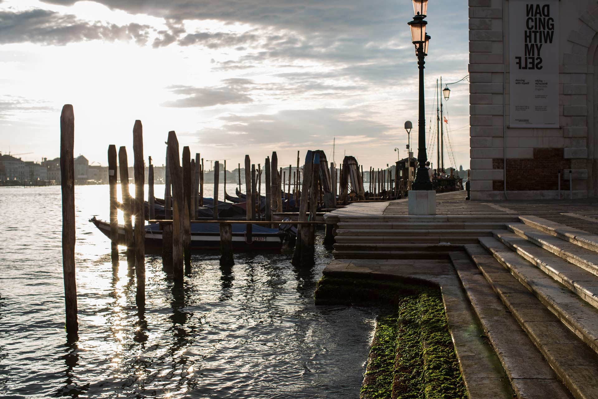 punta della dogana - sunrise photo shooting session