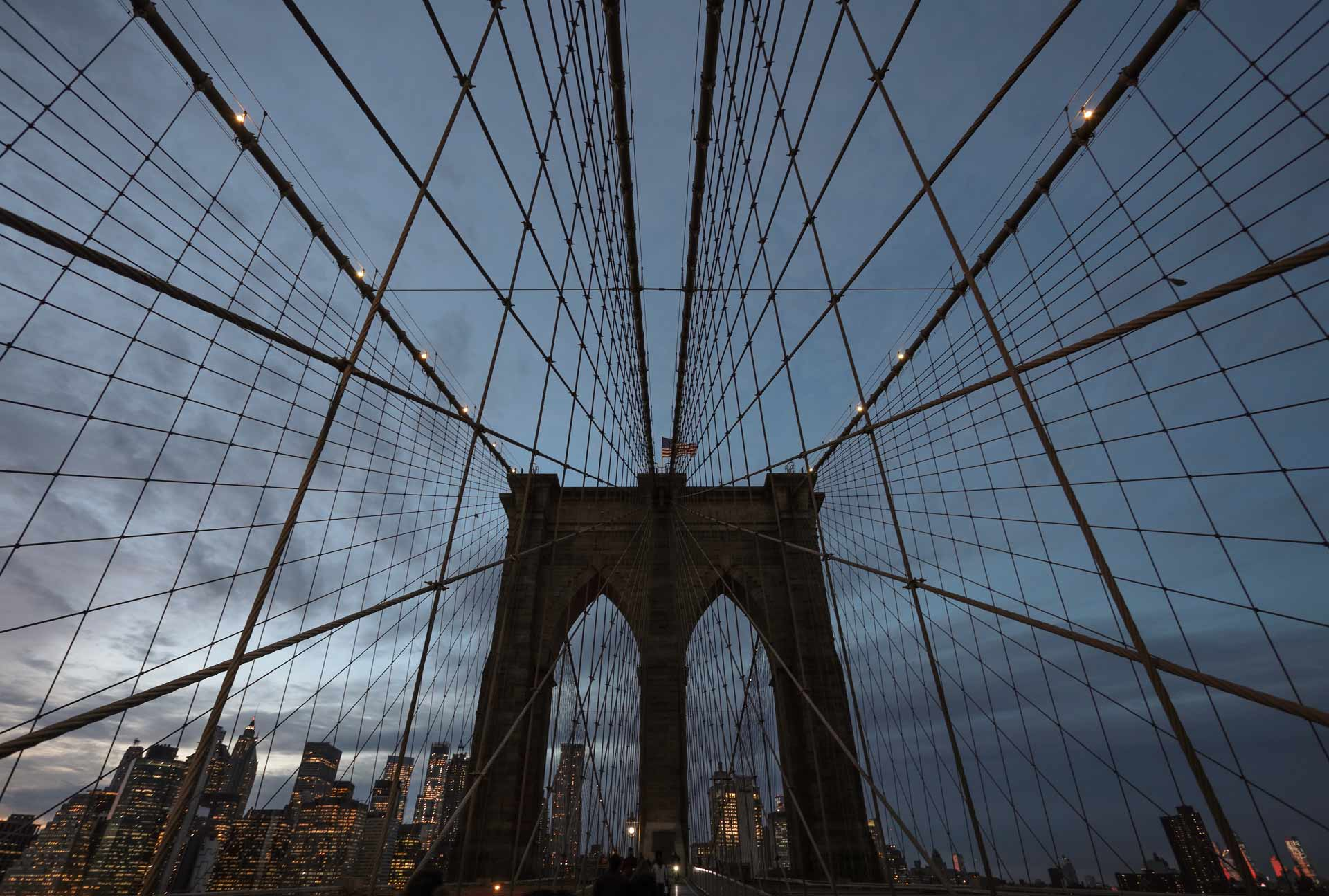 Pictures I've always dreamed of-nyc-brooklyn-bridge-sunset-architecture