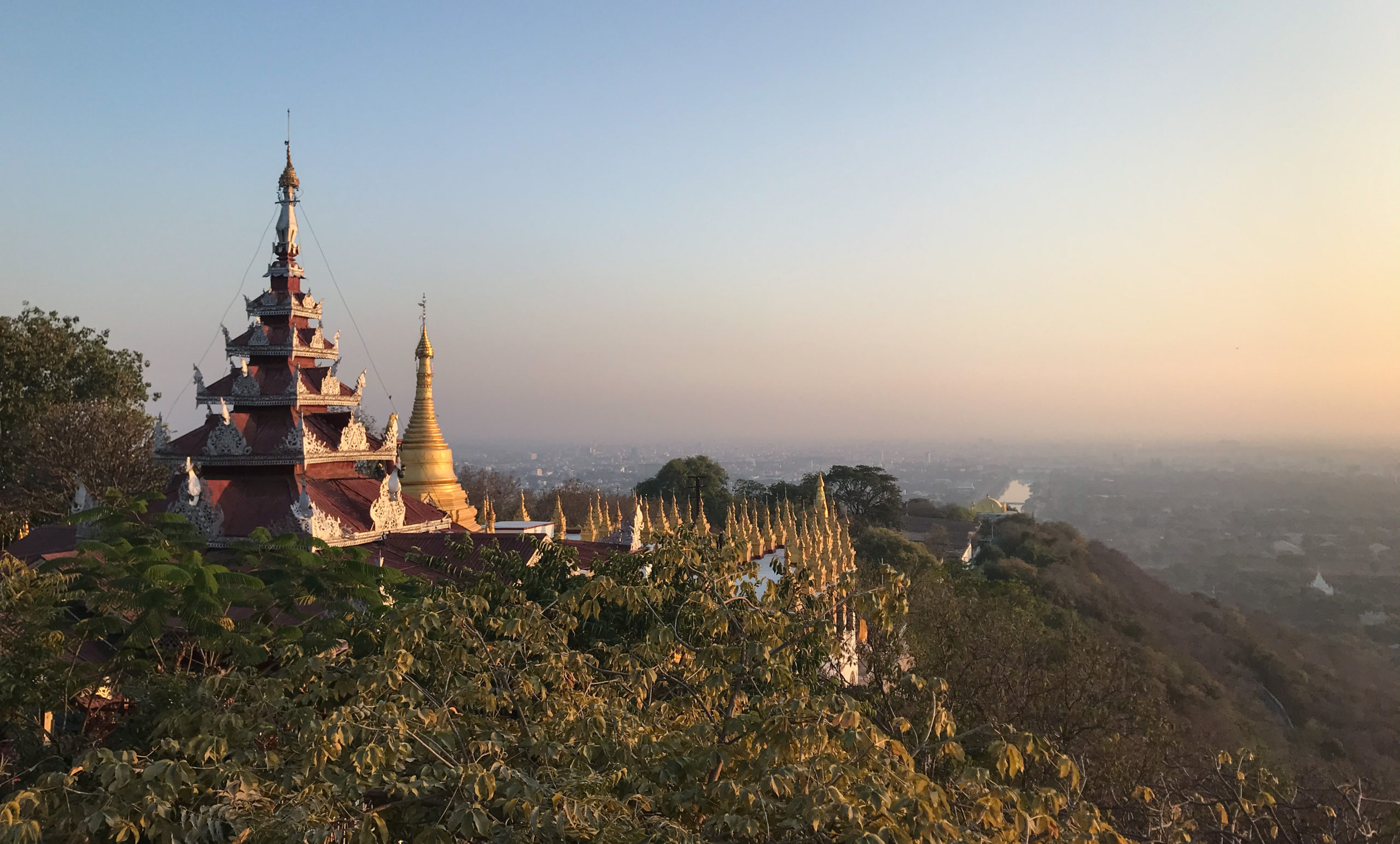 Mandalay with great expectations, Mandalay Hill