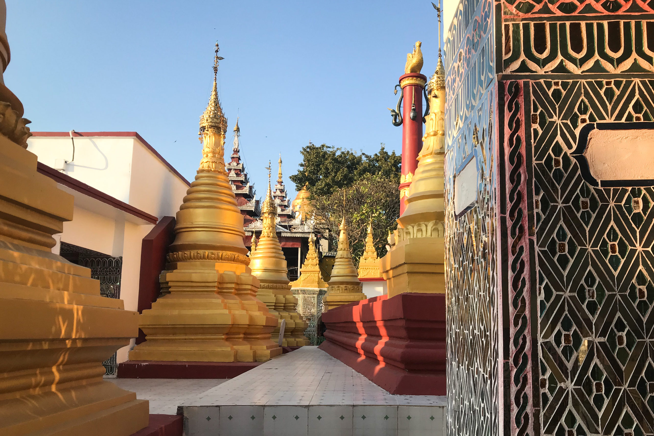 Mandalay Hill, Burma