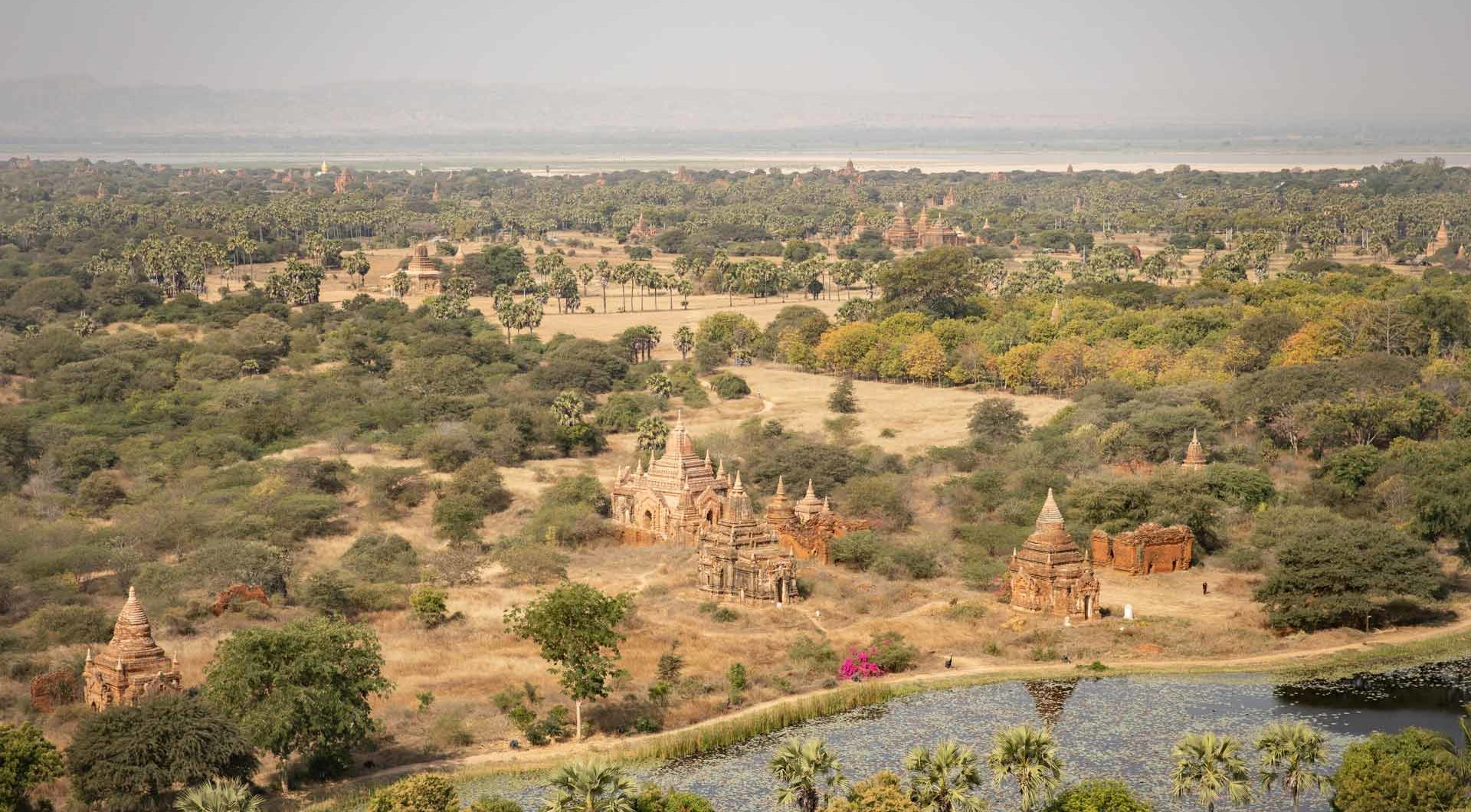 In Bagan Looking for magic!