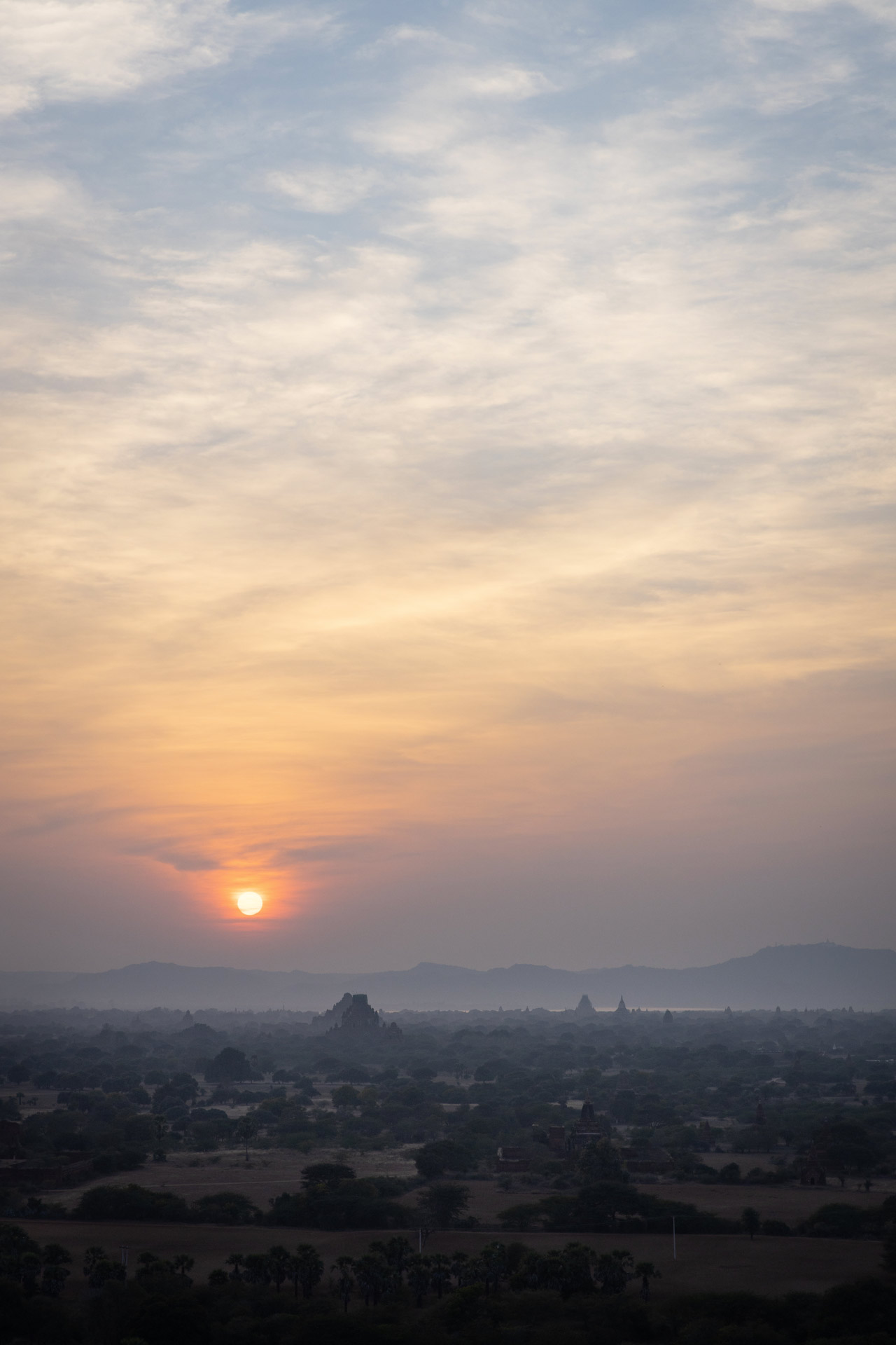 In beautiful Bagan, Looking for magic! Sunset and pagodas